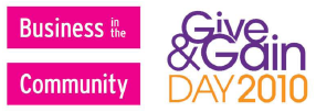 Give & Gain Day 2010 Logo