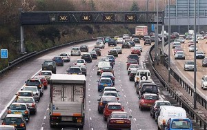 Whiplash injury caused by multiple car shunt on M25