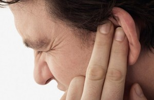 Ear damage casued by road traffic accident
