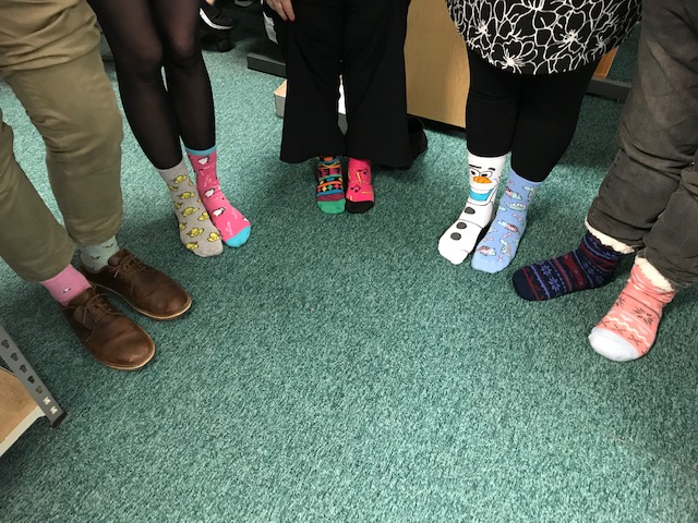 Rocking Your Socks for World Down Syndrome Day
